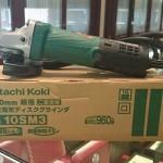 【京都屋質店】日立電気ディスクグラインダ買取ました。