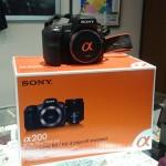 【京都屋質店】ソニー α200(DSLR-A200)買取ました。デジタル一眼カメラ買い取ります。