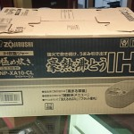 象印 IH炊飯ジャー 極め炊き/NP-XA10(5.5合炊き)新品買取ました。