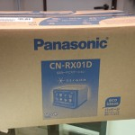 パナソニック ストラーダ カーナビ CN-RX01D 買取ました。