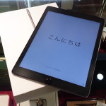 Apple iPad air Wi-Fi Cellular 16GB MGGX2J/A A1567 買取ました。