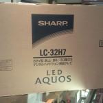 SHARP シャープ LED AQUOS 液晶テレビ LC-32H7 買取ました。