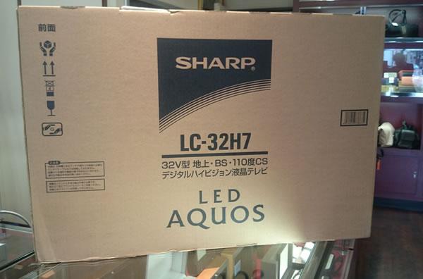 LC-32H7 SHARP