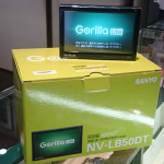 滋賀 京都 サンヨー  パナソニック ゴリラ Lite NV-LB50DT買取ました。
