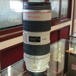 滋賀 京都 キヤノン カメラレンズ EF70-200mm F4L IS USM 買取ました。