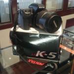 京都 滋賀 大津 草津 彦根 ペンタックスデジタル一眼レフカメラ K-5 買取ました。