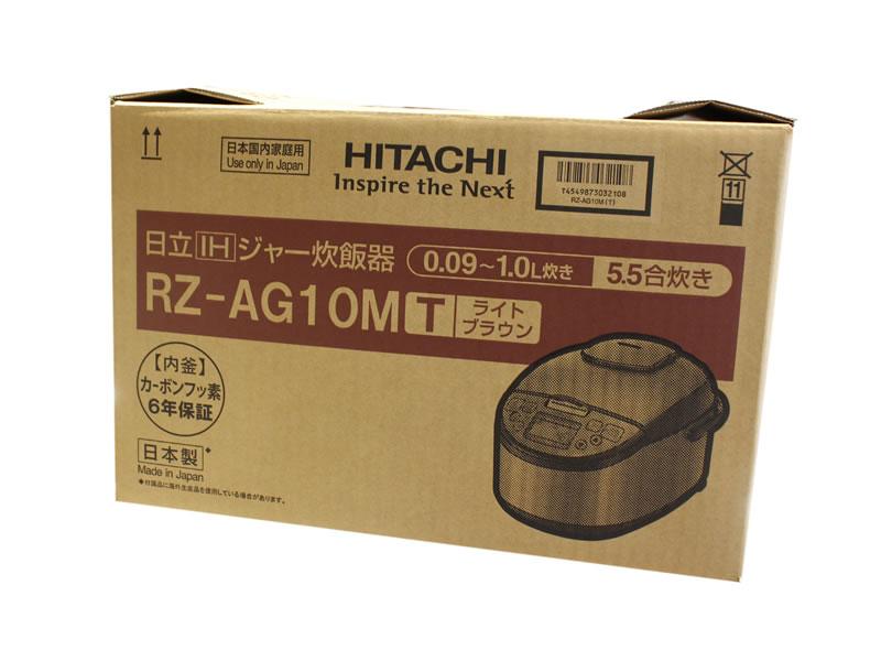 HITACHI ジャー炊飯器 RZ-AG10 買取り
