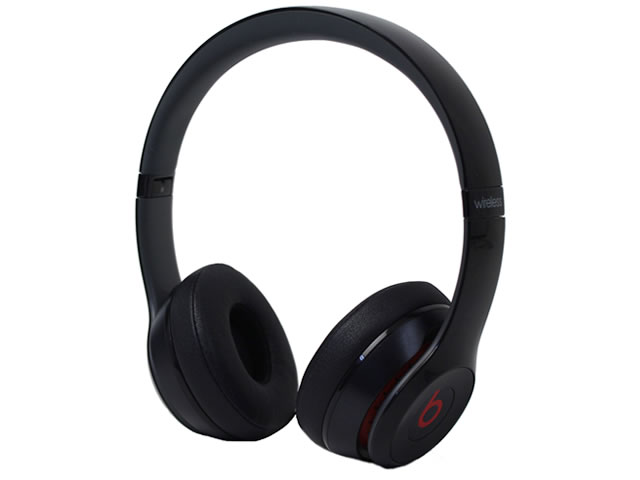 beats by dr.dre Solo2 Wireless オンイヤーヘッドフォン ブラック MHNG2PA