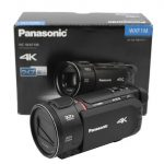 ビューファインダーとマニュアル操作で動画撮影可能な4Kビデオカメラ
