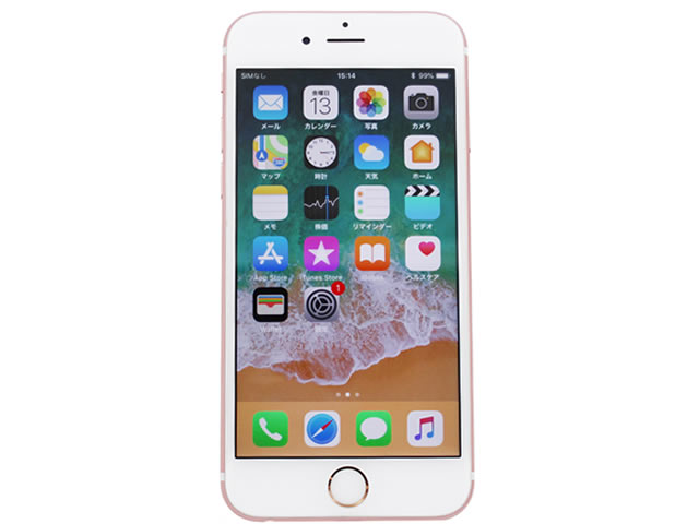 iphone 6s rose gold 64GB MKQR2J