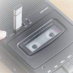 なつかしのカセットテープの音源をデジタル変換!
