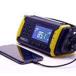 リチウム電池6400mAh採用の防災ラジオ