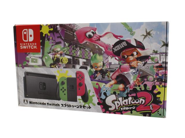 Nintendo-Switch-任天堂-スプラトゥーン2 買取り