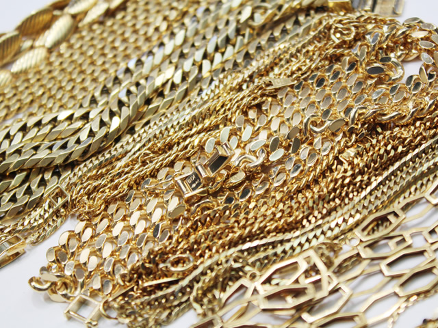 滋賀県で金の喜平ネックレスを買取させていただいた紹介ページです