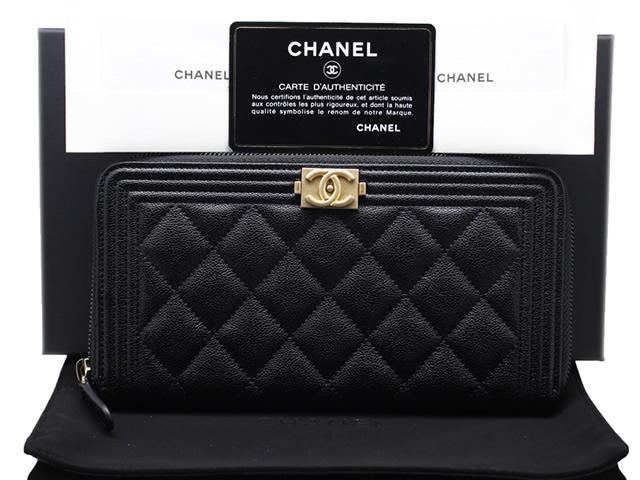 シャネルラウンドファスナー長財布の買取商品紹介ページです