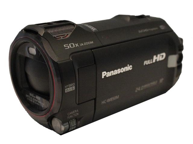 パナソニック デジタルハイビジョンビデオカメラ HC-W850M