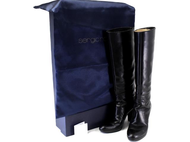 滋賀県大津市セルジオ・ロッシのロングブーツ高価買取商品ご紹介ページです