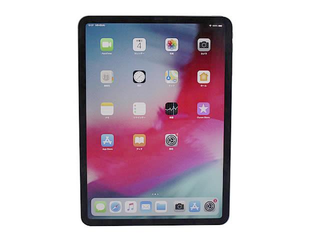 iPad Pro 11インチ Liquid Retinaディスプレイ Wi-Fiモデル 1TB - スペースグレイ MTXV2JA 2018年モデル