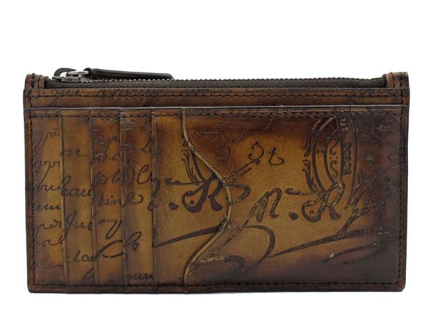 滋賀県ベルルッティ(BERLUTI)のコアマキシレザージップ付き長財布を買取させていただきました